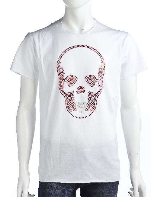 ルシアンペラフィネ lucien pellat-finet ペラフィネ Tシャツ メンズ EVH1554 ホワイト 送料無料 楽ギフ_包装 LPF値下 【ラッキーシール対応】