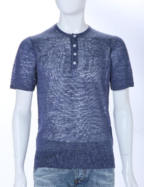 イレブンティ eleventy Tシャツ メンズ 979MA0026 19010 ネイビー 送料無料 アウトレット 目玉商品3弾 【ラッキーシール対応】