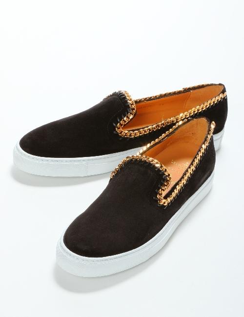 ルイリーマン LOUIS LEEMAN スニーカー スリッポン 靴 メンズ LL171 ブラック 送料無料 目玉商品
