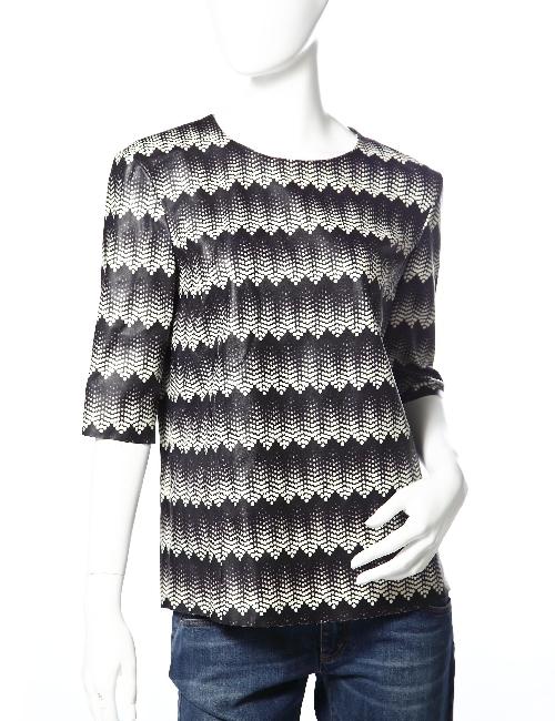 ドローム DROME レザーTシャツ ドローム DROME レディース DPD0399 D596 ブラック×ホワイト 送料無料 アウトレット 目玉商品3弾 【ラッキーシール対応】