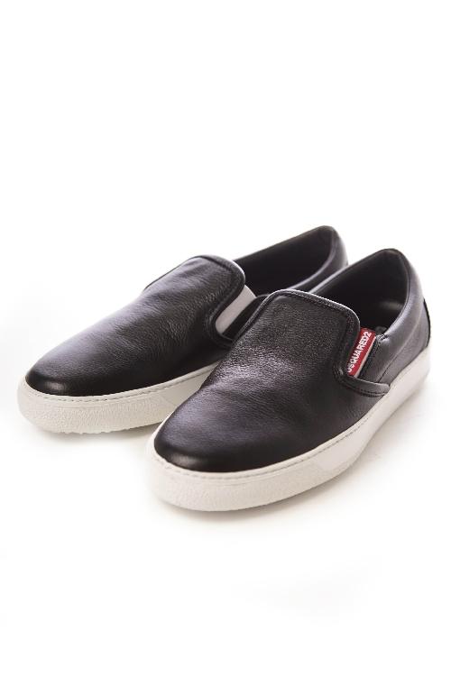 ディースクエアード DSQUARED2 スリッポン 靴 メンズ W15SN407015 ブラック