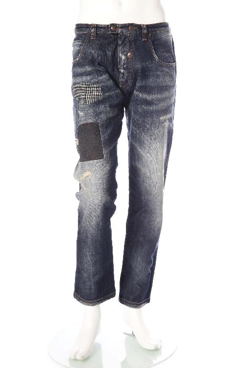 ガブリエレパジーニ GABRIELE PASINI ジーンズパンツ デニム メンズ G5DENIM1 G5010 ブルー 送料無料 楽ギフ_包装 【ラッキーシール対応】