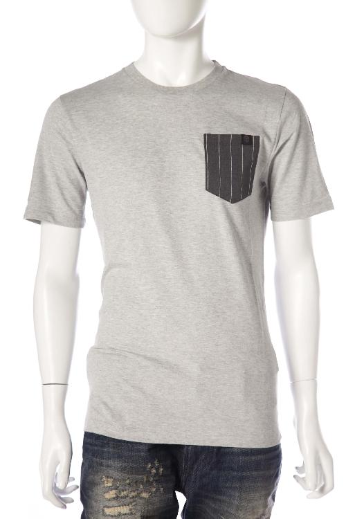 ハイドロゲン HYDROGEN Tシャツ 半袖 丸首 ハイドロゲン メンズ 170018 グレー 【ラッキーシール対応】