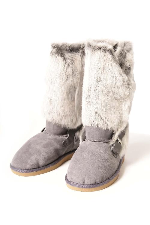 ペジアブーツ PEGIA BOOTS ブーツ ムートンブーツ 靴 レディース 101085 ライトブルー 送料無料