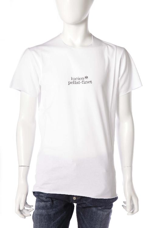 ルシアンペラフィネ lucien pellat-finet ペラフィネ Tシャツ 半袖 丸首 メンズ EVH1831 ホワイト 送料無料 楽ギフ_包装 LPF値下 【ラッキーシール対応】