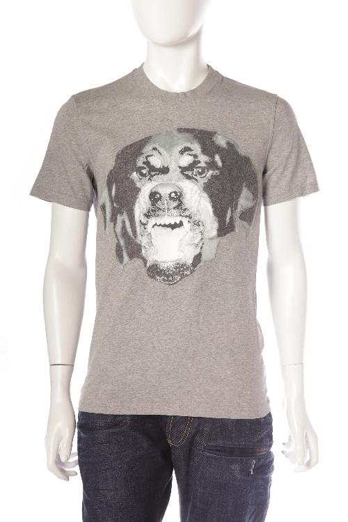 ジバンシー ジバンシィ GIVENCHY Tシャツ 半袖 丸首 メンズ 16S 7316 651 グレー 送料無料 楽ギフ_包装 目玉商品20180313 【ラッキーシール対応】