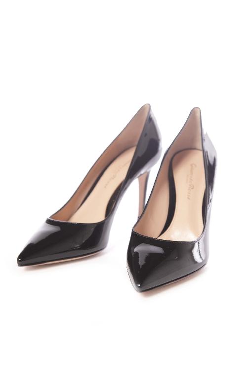 ジャンヴィトロッシ GIANVITO ROSSI パンプス ハイヒール VERNERO 靴 レディース G24580 85RIC ブラック 送料無料