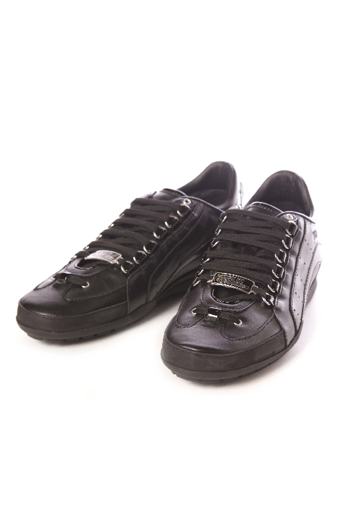 ディースクエアード DSQUARED2 スニーカー ローカット 靴 メンズ S16SN434713 ブラック 送料無料