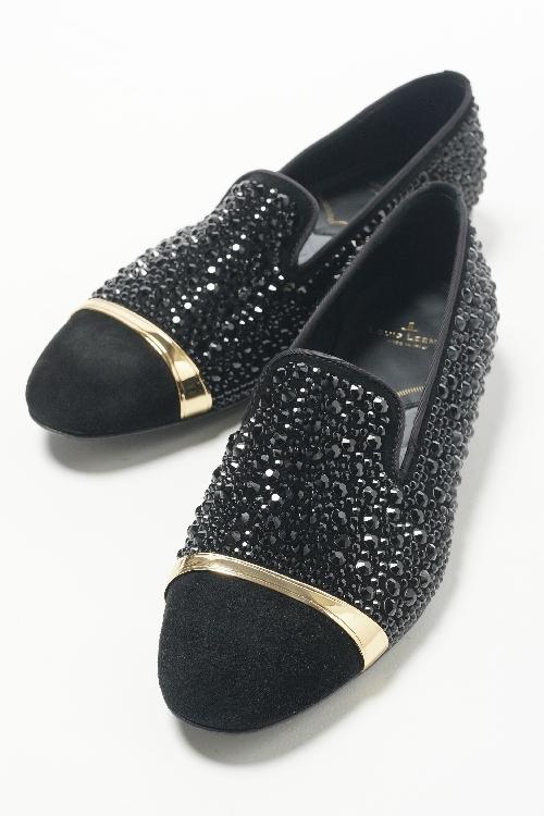 ルイリーマン LOUIS LEEMAN シューズ スリッポン ドレスシューズ 靴 メンズ LL0181 ブラック 送料無料 目玉商品