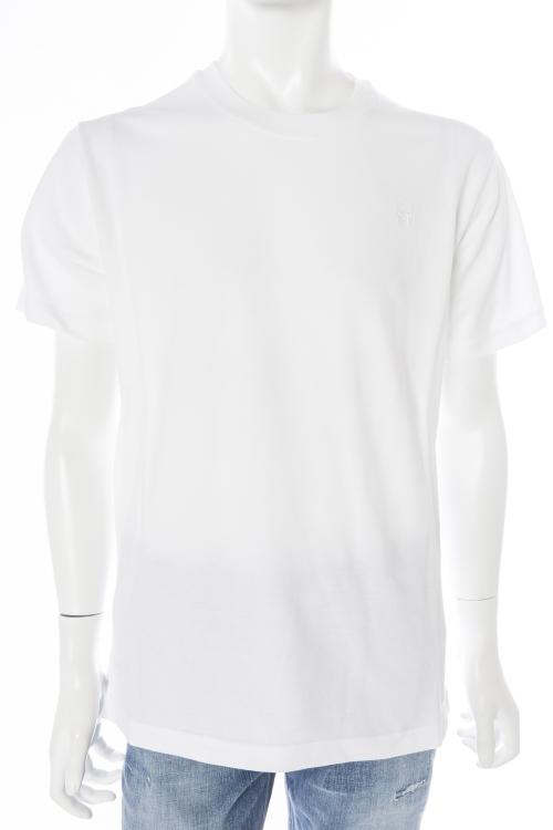 ルシアンペラフィネ lucien pellat-finet ペラフィネ Tシャツ 半袖 丸首 メンズ EVH1787 ホワイト 送料無料 楽ギフ_包装 目玉商品 【ラッキーシール対応】