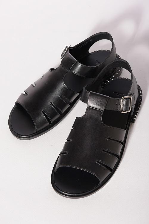 ジバンシー ジバンシィ GIVENCHY サンダル レザーサンダル 靴 メンズ BM08186954 ブラック 送料無料 目玉商品