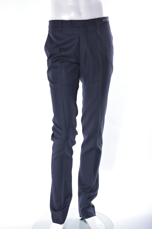 PT01 ピーティーゼロウーノ パンツ スラックス PT01 Deluxe TAILORING EVO FIT デラックス メンズ CO XF01 MA LZ06 ネイビー 送料無料 楽ギフ_包装 COXF01 LZ06 【ラッキーシール対応】