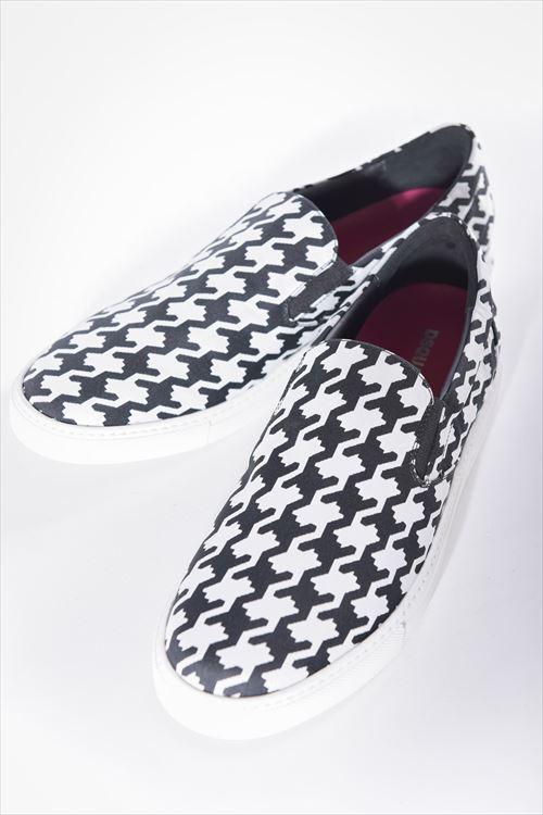 ディースクエアード DSQUARED2 スニーカー スリッポン 靴 POP TUX NYLON JACO BABE WIRE メンズ W16SN425861 チドリ 送料無料