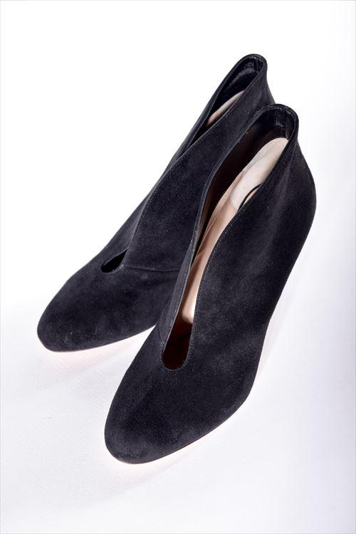 ジャンヴィトロッシ GIANVITO ROSSI パンプス ブーティ 靴 レディース G29610 CAMOSCIO ブラック 送料無料 SALE16AW 【ラッキーシール対応】
