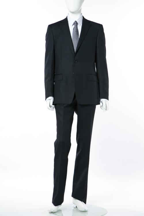 ヴェルサーチコレクション VERSACE COLLECTION スーツ 2つボタン サイドベンツ シングル メンズ V100026 VD1092 ブラック 送料無料 【ラッキーシール対応】