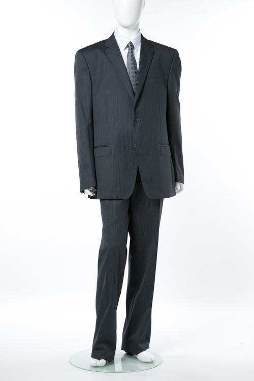 ヴェルサーチコレクション VERSACE COLLECTION スーツ 2つボタン サイドベンツ シングル メンズ V100026 VD1094 グレー 送料無料 【ラッキーシール対応】