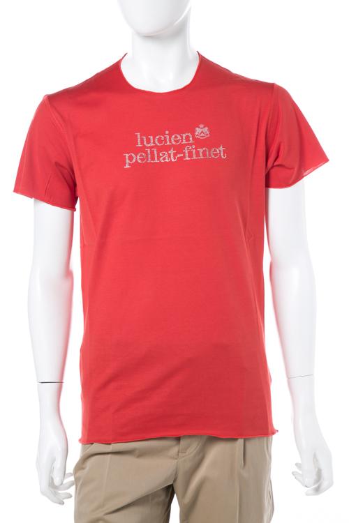 ルシアンペラフィネ lucien pellat-finet ペラフィネ Tシャツ 半袖 丸首 メンズ EVH1886 レッド 送料無料 楽ギフ_包装 LPF値下 【ラッキーシール対応】