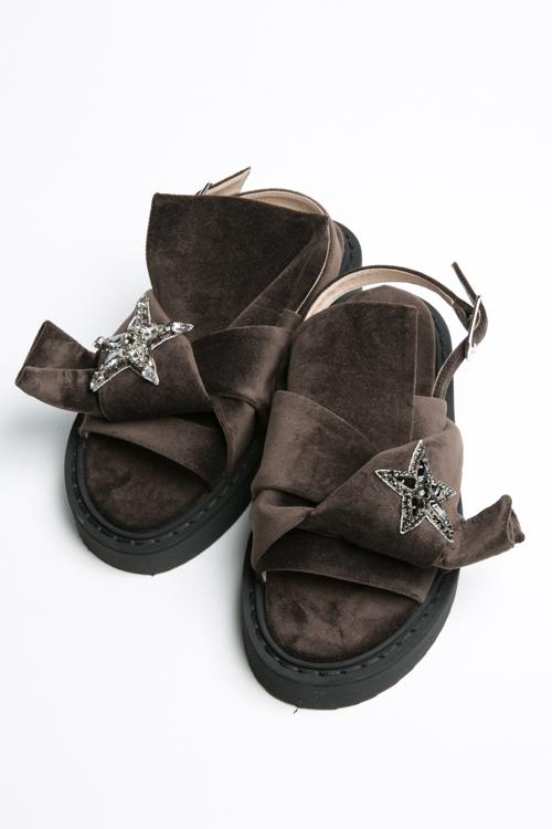 ヌメロヴェントゥーノ N°21 サンダル シューズ 靴 レディース 8062 MARRONE 送料無料