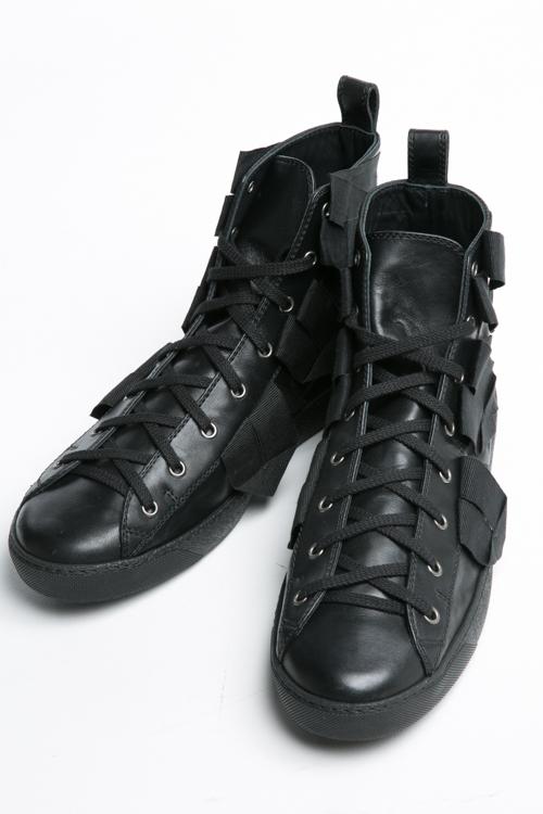 ヌメロヴェントゥーノ N°21 スニーカー ハイカット シューズ 靴 メンズ 2101 ブラック 送料無料