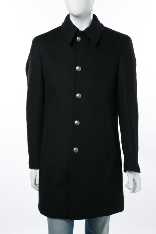 ハイドロゲン HYDROGEN コート チェスターコート メンズ 150309 ブラック 送料無料 アウトレット HYD大量入荷 【ラッキーシール対応】