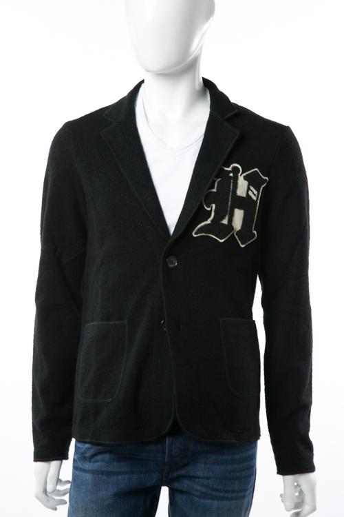 ハイドロゲン HYDROGEN ジャケット テーラードジャケット 2つボタン ノーベント シングル メンズ 190716 ブラック 送料無料 HYD底値挑戦 【ラッキーシール対応】