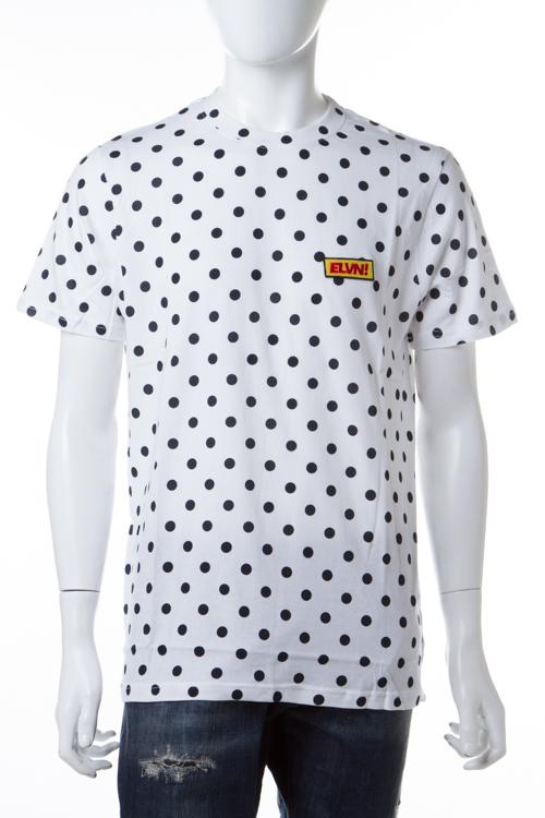 イレブンパリ ELEVEN PARIS Tシャツ 半袖 丸首 16F1 TS138 LODOTS メンズ LODOTS M ホワイト 送料無料 楽ギフ_包装 【ラッキーシール対応】