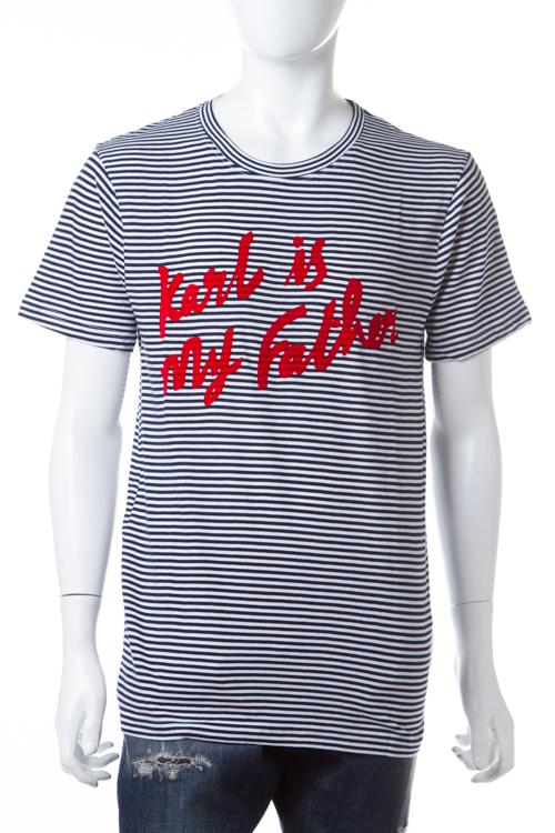 イレブンパリ ELEVEN PARIS Tシャツ 半袖 丸首 16F1 TS175 FANEW メンズ FANEW M TS175 ホワイト×ネイビー 送料無料 楽ギフ_包装 【ラッキーシール対応】