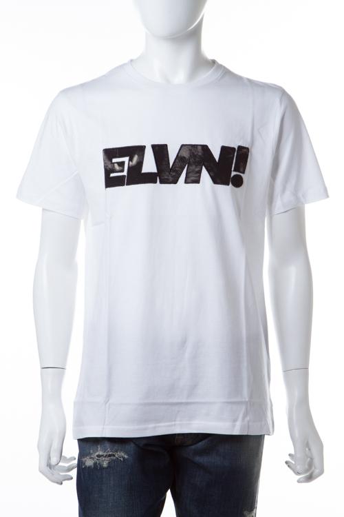 イレブンパリ ELEVEN PARIS Tシャツ 半袖 丸首 16F1 TS209 LOWOLF メンズ LOWOLF M ホワイト 送料無料 楽ギフ_包装 【ラッキーシール対応】