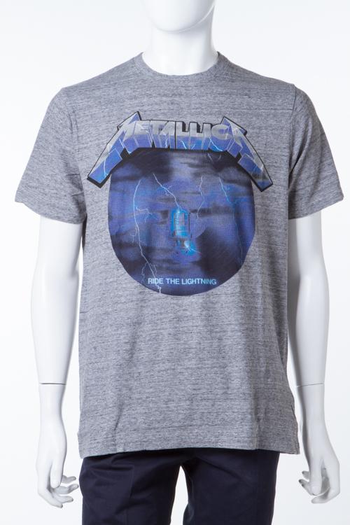 イレブンパリ ELEVEN PARIS Tシャツ 半袖 丸首 METIGHT メンズ METIGHT M グレー 送料無料 楽ギフ_包装 【ラッキーシール対応】