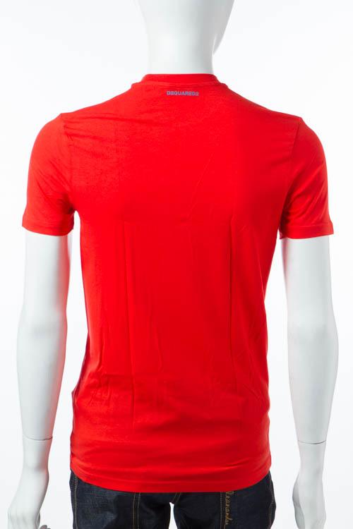 ディースクエアード DSQUARED2 Tシャツアンダーウェア Tシャツ 半袖 丸首 メンズ D9M200910 レッド 送料無料 DSQ限定特価 【ラッキーシール対応】