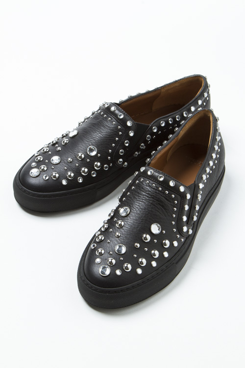 ジバンシー GIVENCHY スニーカー スリッポン シューズ 靴 レディース BE08155195 ブラック 送料無料