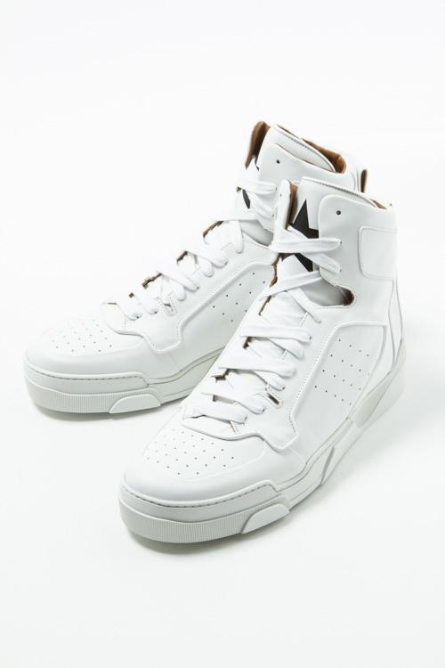 ジバンシー ジバンシィ GIVENCHY スニーカー ハイカット シューズ 靴 メンズ BM08334996 ホワイト 送料無料 2017AW_SALE