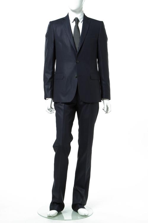 ヴェルサーチコレクション VERSACE COLLECTION スーツ 2つボタン シングル VT00835 メンズ V1000028S 00835 ネイビー 送料無料 【ラッキーシール対応】