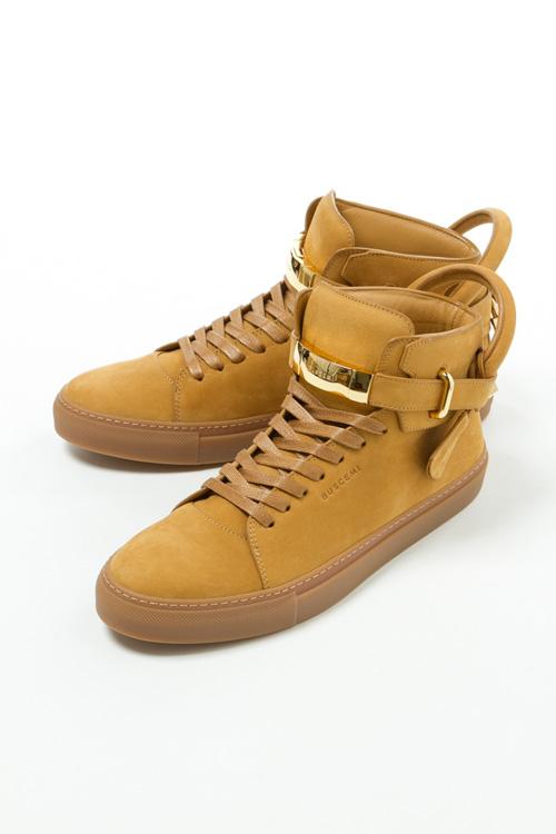 ブシェミ BUSCEMI スニーカー ハイカット シューズ 靴 メンズ 417SM102LK300A ブラウン 送料無料 目玉商品