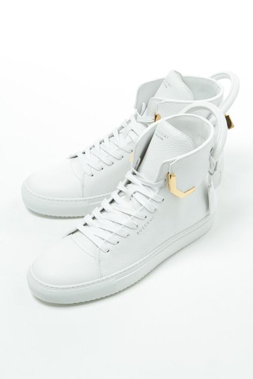 ブシェミ BUSCEMI スニーカー ハイカット シューズ 靴 メンズ 417SM126KB010A ホワイト 送料無料 目玉商品