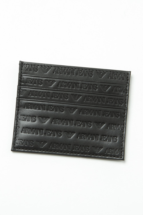 アルマーニ アルマーニジーンズ ARMANIJEANS カードケース 938548 CC999 ブラック 送料無料 楽ギフ_包装 【ラッキーシール対応】