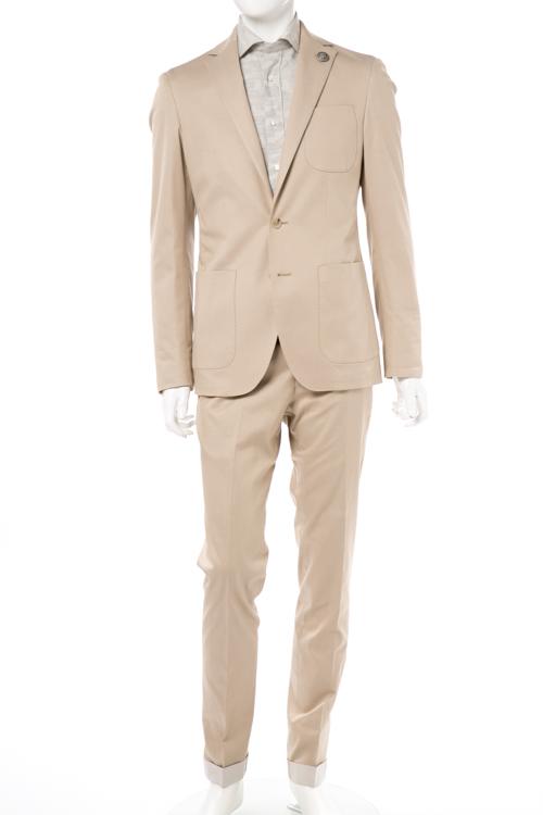 ハイドロゲン HYDROGEN スーツ ビジネススーツ 2つボタン シングル メンズ 200316 ベージュ 送料無料 2017SS_SALE 【ラッキーシール対応】