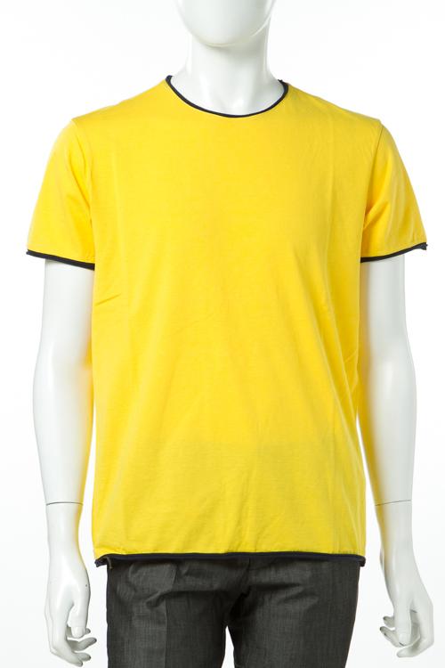 マニュエル リッツ MANUEL RITZ Tシャツ 半袖 丸首 メンズ M521 173363 イエロー 送料無料 楽ギフ_包装 2017SS_SALE 【ラッキーシール対応】