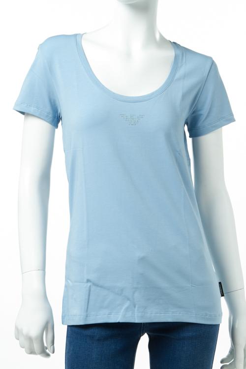 アルマーニ エンポリオアルマーニ Emporio Armani Tシャツアンダーウェア Tシャツ 半袖 丸首 レディース 163377 7P263 ライトブルー 送料無料 楽ギフ_包装 【ラッキーシール対応】