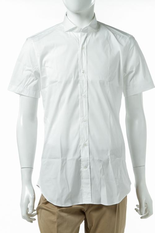 ヴァンガー VANGHER シャツ 半袖 無地 メンズ M005 000 ホワイト 送料無料 楽ギフ_包装 【ラッキーシール対応】