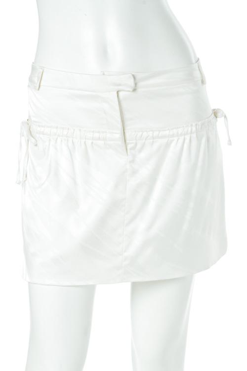 ジャストカヴァリ ジャストカバリ JUST CAVALLI スカート レディース MA0099 37374 ホワイト 送料無料 楽ギフ_包装