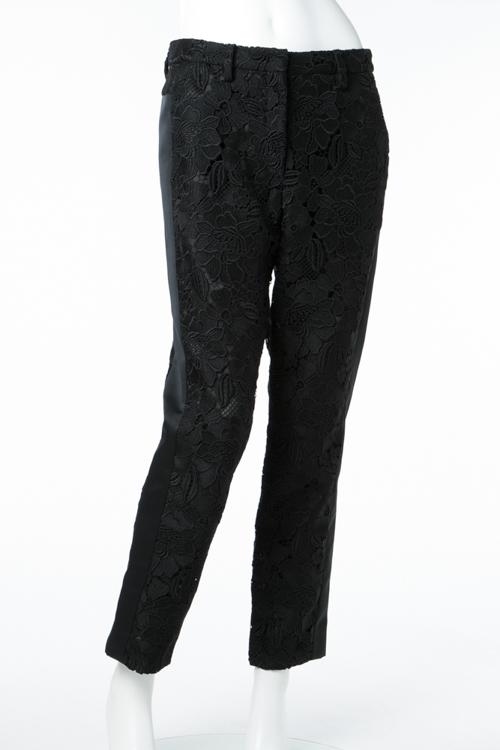 ヌメロヴェントゥーノ N°21 パンツ レディース B052 4764 ブラック 送料無料 楽ギフ_包装 2017AW_SALE