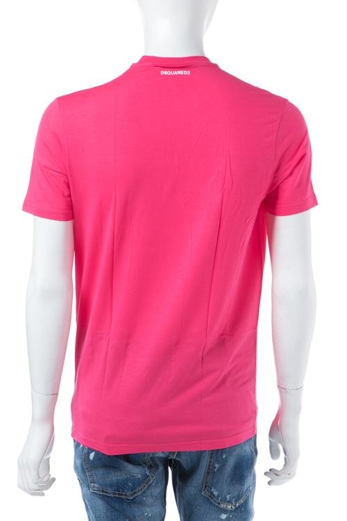 ディースクエアード DSQUARED2 Tシャツアンダーウェア Tシャツ 半袖 丸首 メンズ D9M200900 ピンク 送料無料 楽ギフ_包装 【ラッキーシール対応】
