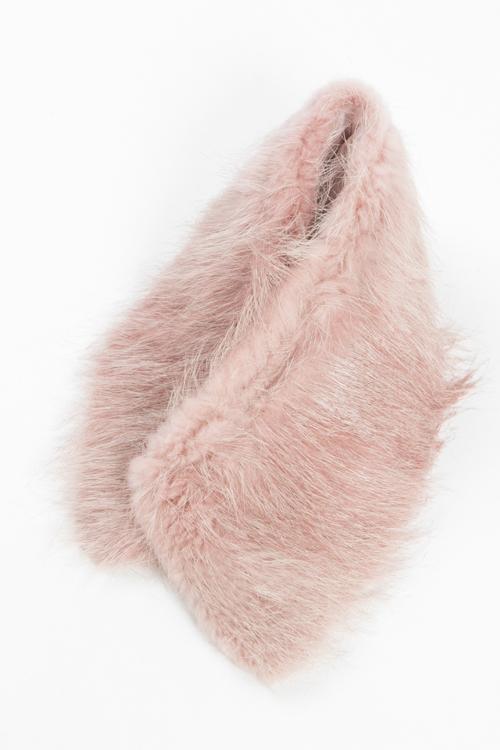 ジャストカヴァリ ジャストカバリ JUST CAVALLI スカーフ ファーマフラー TH0007 08247 ピンク 送料無料 楽ギフ_包装