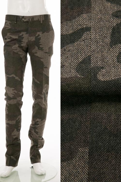 PT01 ピーティーゼロウーノ パンツ スラックス メンズ RIDF01 KI02 迷彩 送料無料 楽ギフ_包装 【ラッキーシール対応】