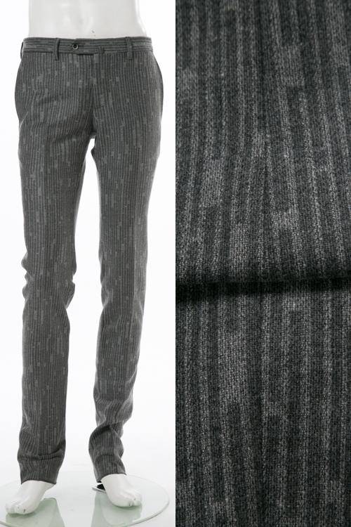 PT01 ピーティーゼロウーノ パンツ スラックス メンズ RIDF01 CZ31 グレー 送料無料 楽ギフ_包装 【ラッキーシール対応】