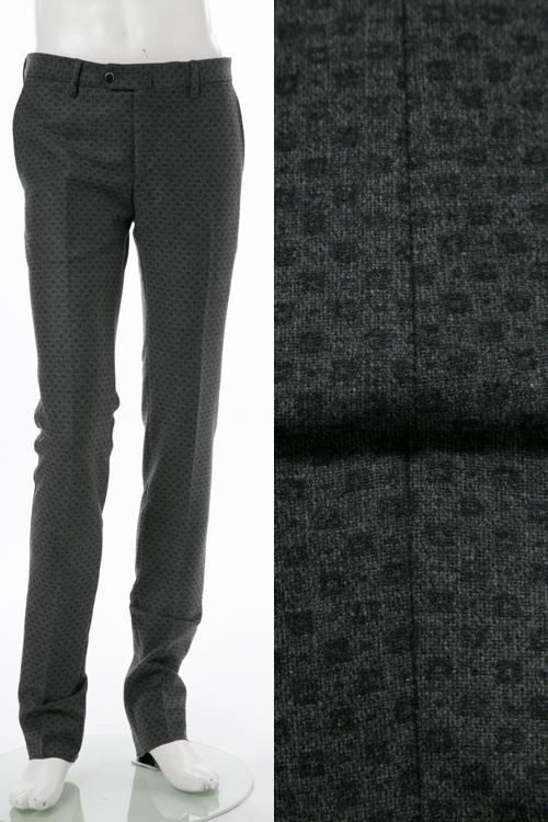 PT01 ピーティーゼロウーノ パンツ スラックス メンズ RIDF01 CZ32 グレー 送料無料 楽ギフ_包装 【ラッキーシール対応】