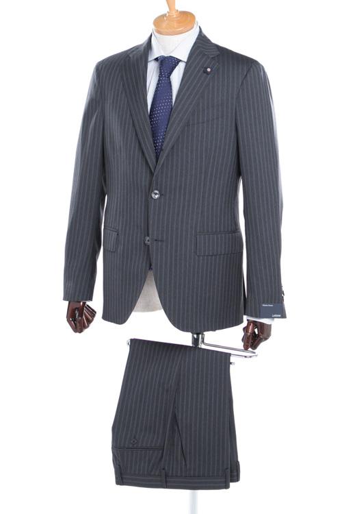 ラルディーニ LARDINI 2ピーススーツ シングル EE0423AV CCL1136 メンズ 423AV CCL1136 ダークグレイ 送料無料 【ラッキーシール対応】