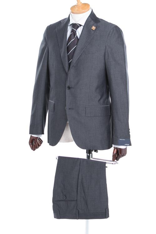 ラルディーニ LARDINI 2ピーススーツ シングル EE0423AV PL36709 メンズ 423AV PL36709 ダークグレイ 送料無料 【ラッキーシール対応】