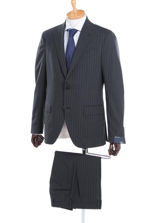 ラルディーニ LARDINI 2ピーススーツ シングル EE0423AV BMBAATEQ メンズ 423AV BMBAATEQ ダークグレイ 送料無料 【ラッキーシール対応】